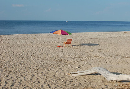 Port Jefferson Beach Long Island