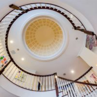Old Westbury Georgian Colonial Staircase