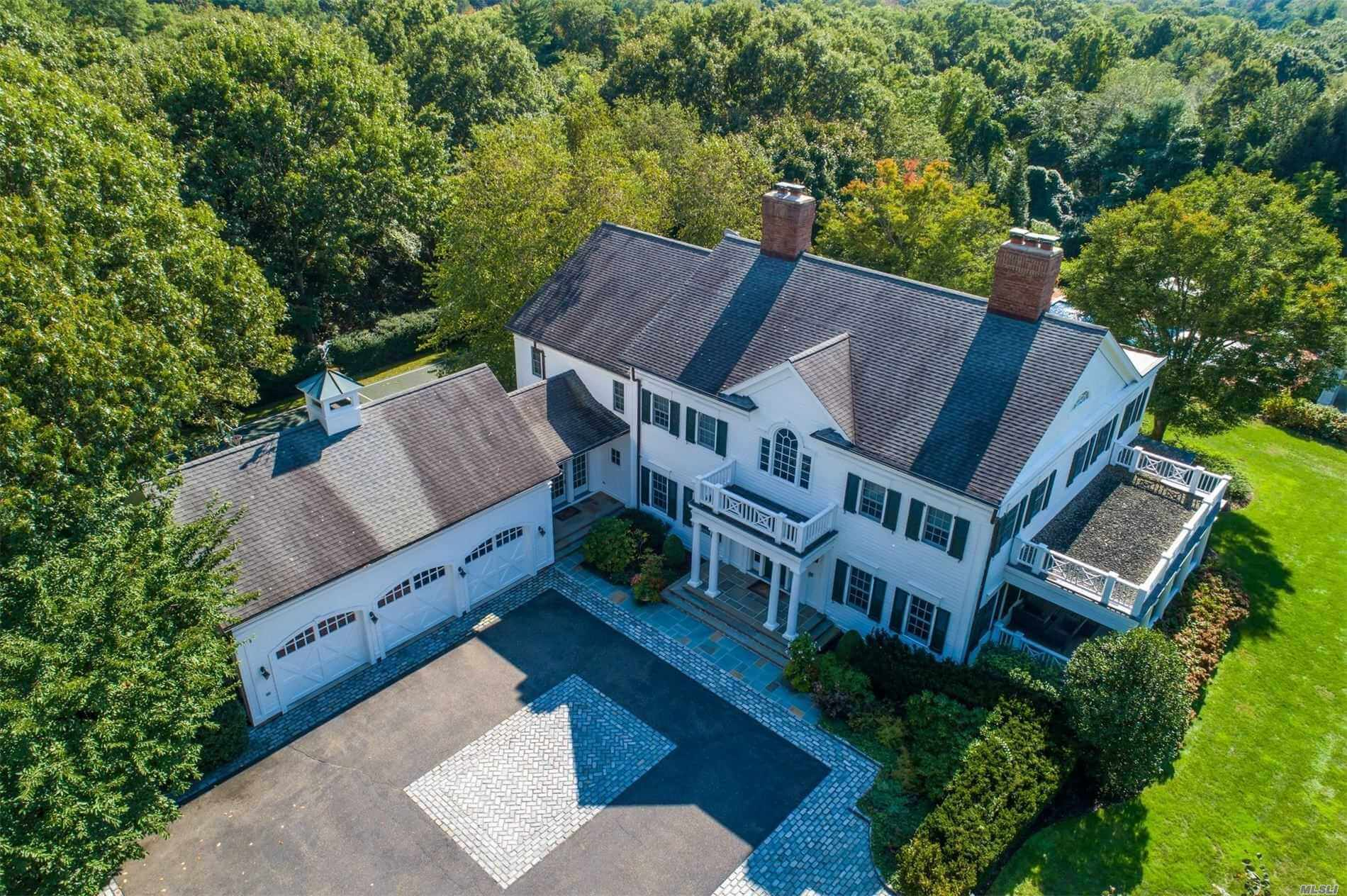 Old Westbury Colonial House