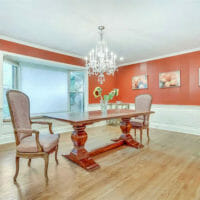 Old Westbury Home Dining Room